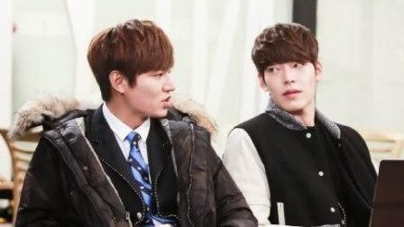 Oke, di layar kaca dalam serial 'The Heirs', Lee Min Ho dan Kim Woo