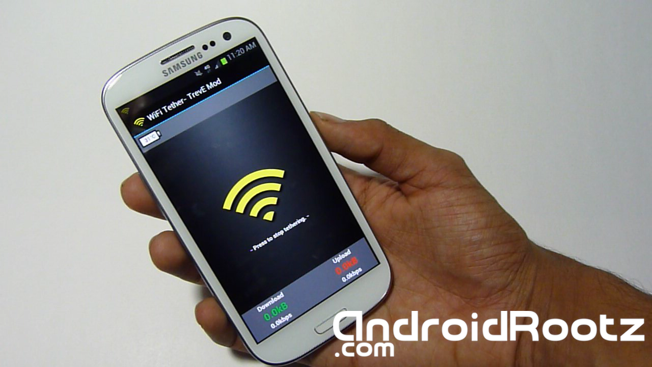 How to Get Free WiFi Tether/HotSpot on Samsung Galaxy S3 ...