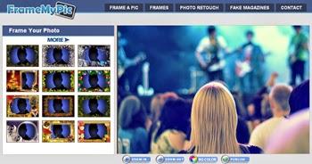 Marcos fotográficos online y gratis en Frames My Pic