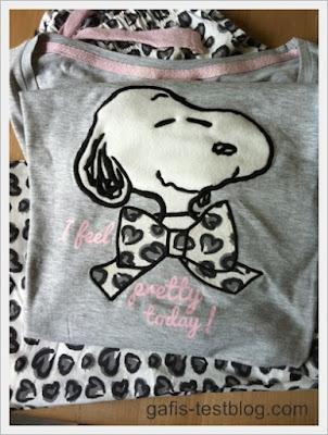 Mein neuer Snoopy Schlafanzug
