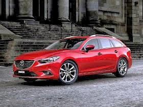2015 Mazda 6 Diesel Wagon Widescreen Photos