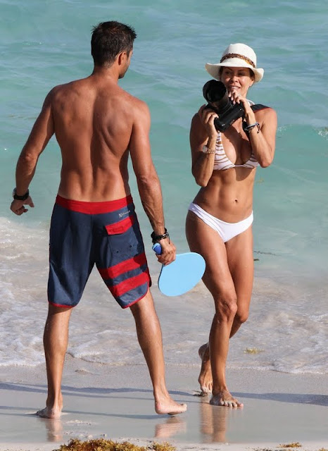 Brooke Burke and David Charvet Show Honeymoon With The Kids