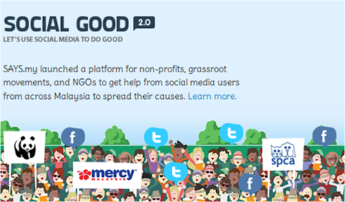 SAYS.my 'Social Good' Contest
