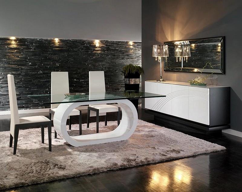 A arte de decorar sala de jantar for Casas modernas interiores salas