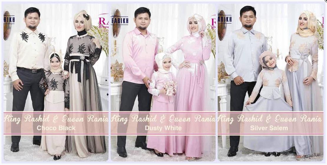 Gambar Baju Muslim Couple Keluarga 2015