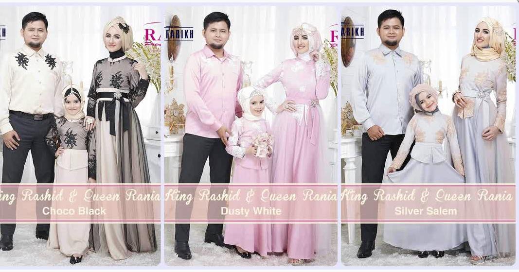 Gambar Baju Muslim Couple Keluarga