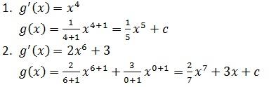 Mengerjakan Turunan fungsi dan integral ( Matematika SMA)