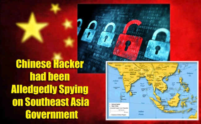 Chinese Hacker had been Alledgedly Spying on Southeast Asia Government