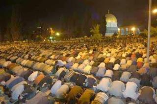 Shalat Ashar dengan Jama'ah Shalat Maghrib
