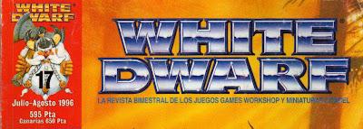 Logotipo de la White Dwarf a partir del número 17 de la edición española