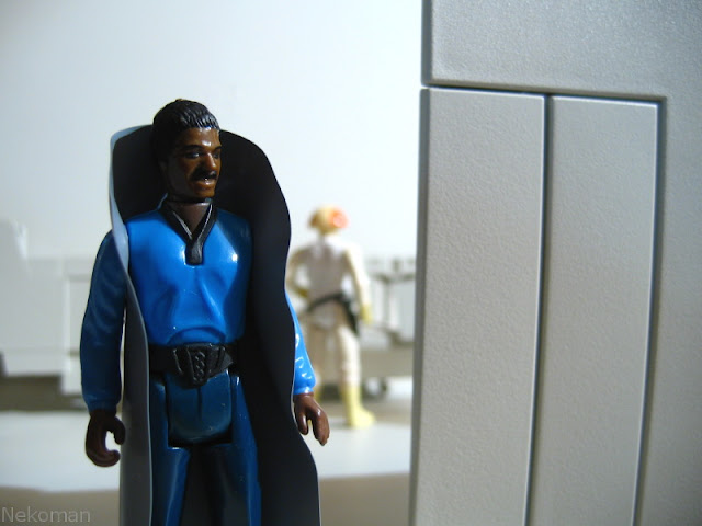 Vintage Kenner Hasbro Billy Dee Williams Lando Calrissian Cloud Car Pilot Bespin Cloud City ANH ESB ROTJ