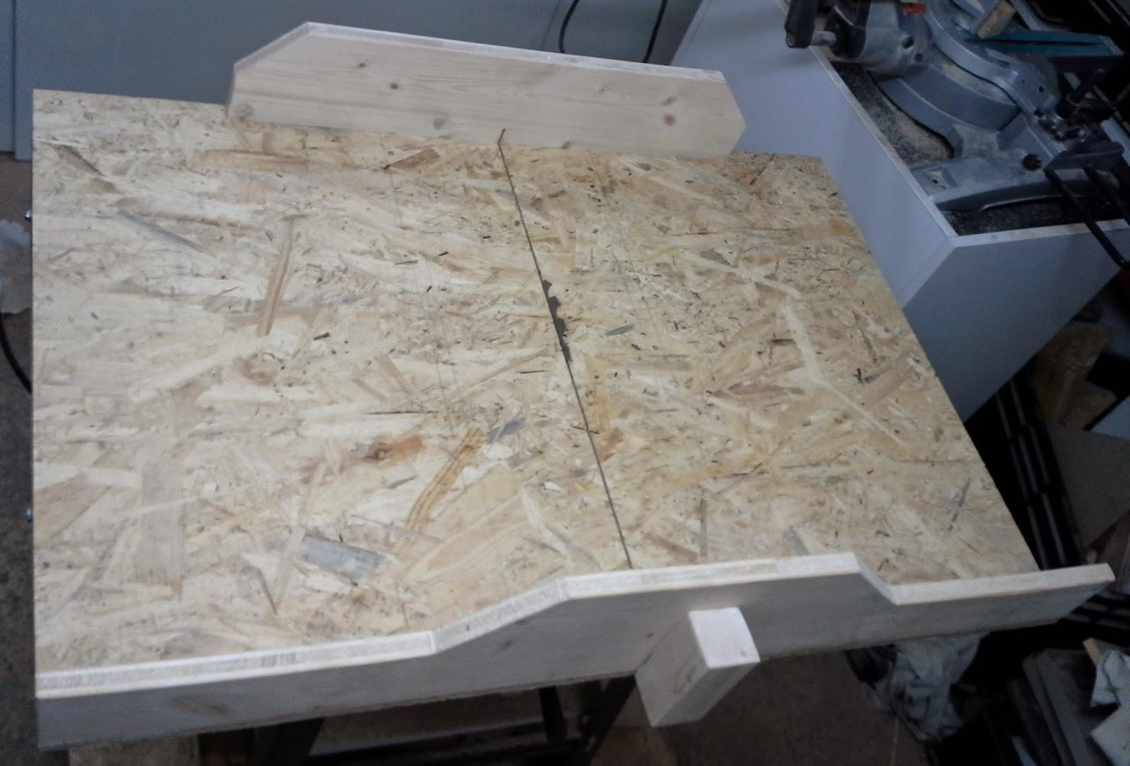 Außergewöhnliche Holz und Metall - Ein Heimwerkerblog: Schiebeschlitten für WQ89