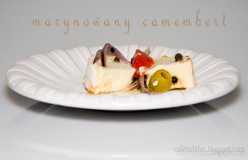 Marynowany camembert jak nakládaný hermelín