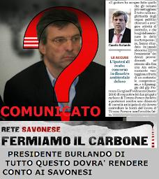 COMUNICATO RETE SAVONESE FERMIAMO IL CARBONE - GENNAIO 2015
