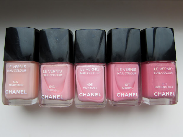 chanel in #495 mica rose comparisons