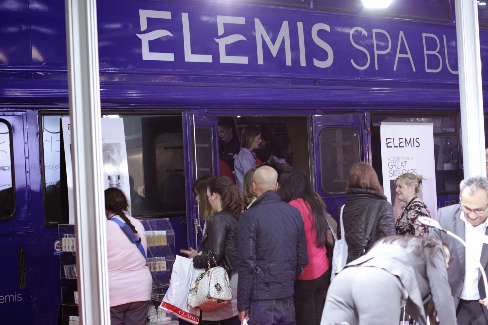 Professional Beauty London Show - Elemic double decker stand