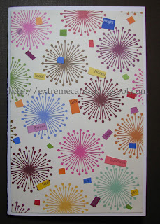 how to make a pop up flower card from paint chips