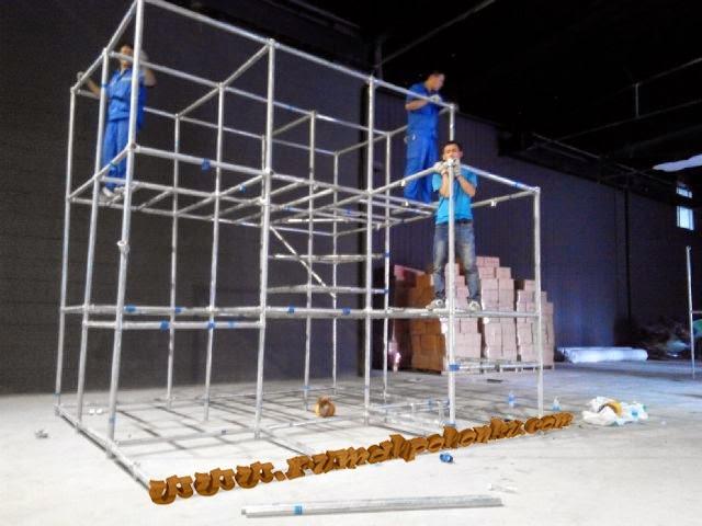 cara pemasangan indoor playground indonesia