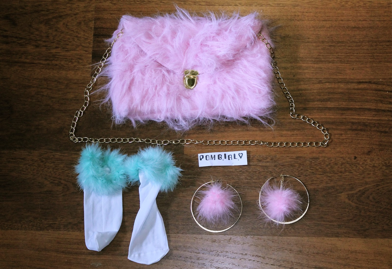 uk fashion style blog pom pom furry fluffy accessories