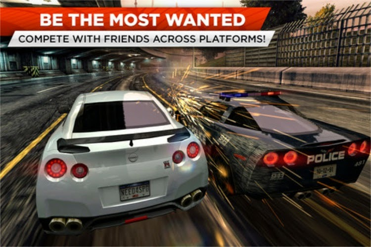 نيد فور سبيد للايفون Need for Speed Most Wanted