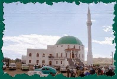 صورة أحد مساجد شبه جزيرة القرم