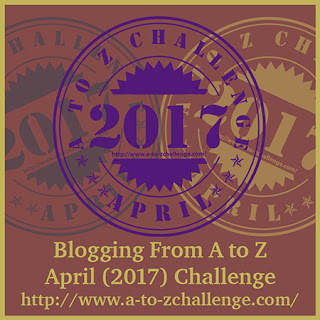 2017 Blogging A to Z Challenge