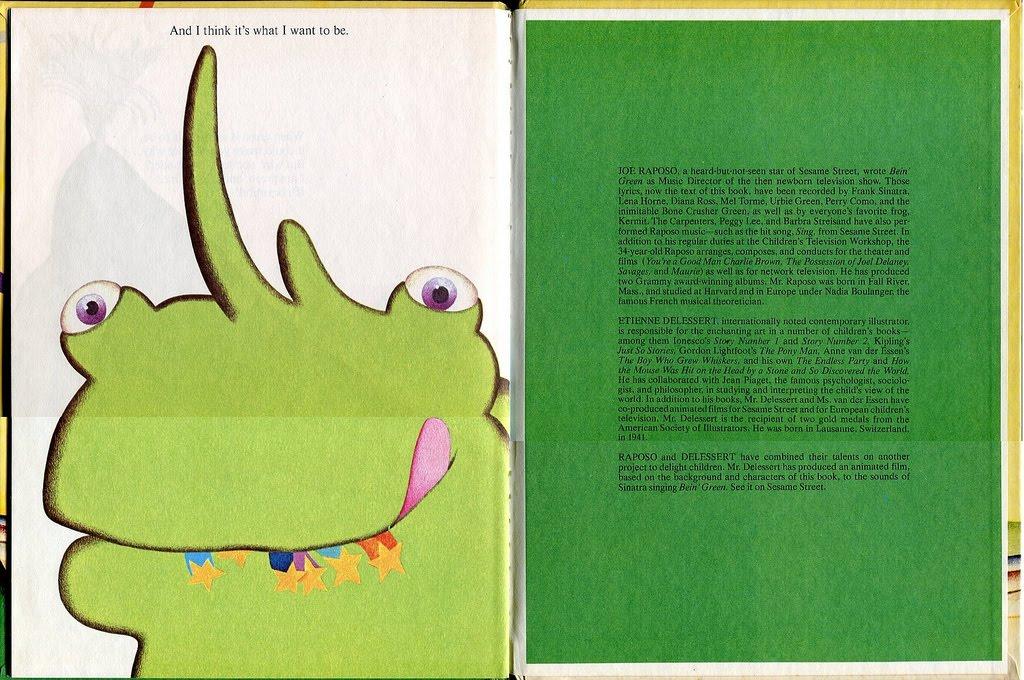 Vintage Kids' Books My Kid Loves: Guest Post: Being Green