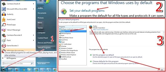 Cum schimbi browser-ul cu care deschizi paginile web