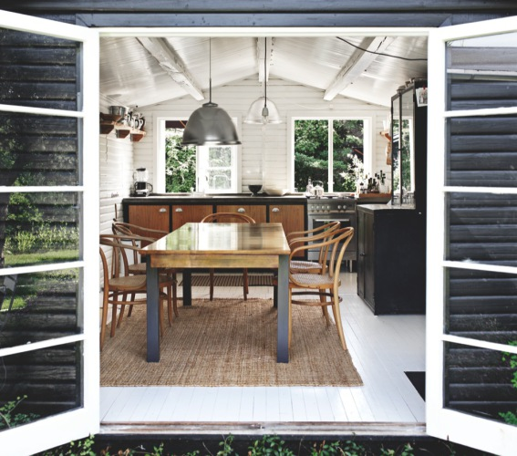 Outdoor Kitchen New Zealand: Automatism: A Stylish Cottage