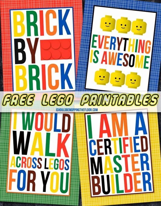 Free Printable LEGO