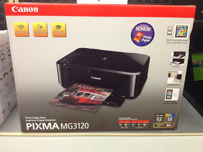 canon MG3120 printer and troubleshoot