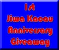 JIWA KACAU 1ST ANNIVERSARY GIVEAWAY
