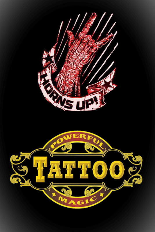 Powerful Magic Tattoo & Horns Up Rocks to Present