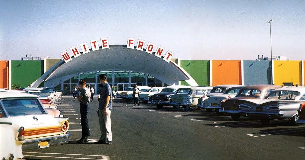 Anaheim Historical Society White Front Anaheim 1961