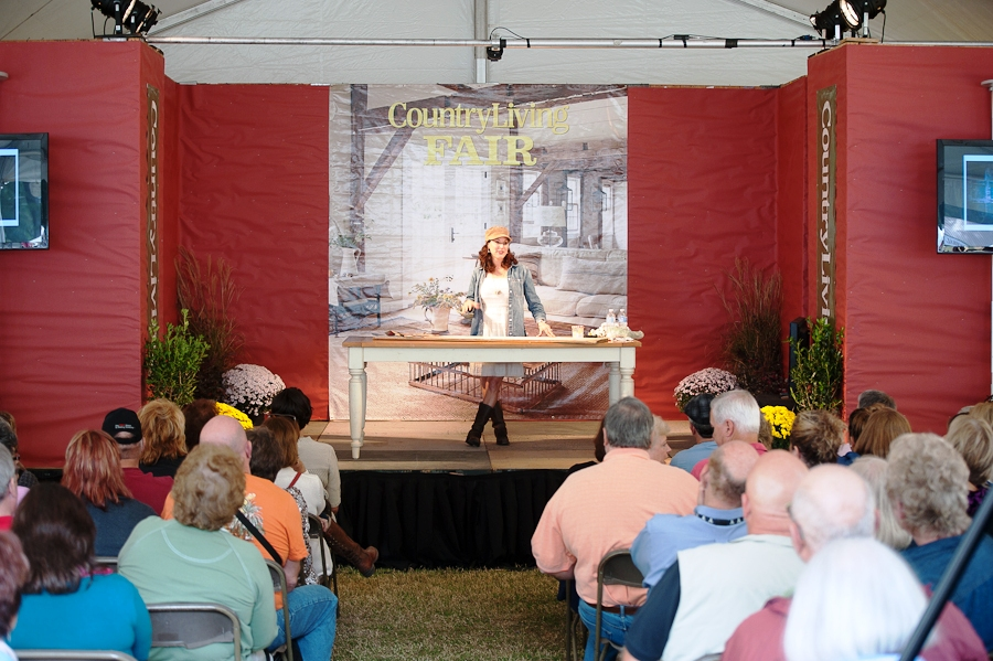 Image result for country living fair main stage