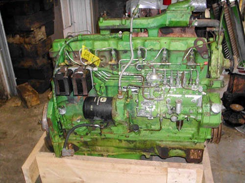 Used john deere engine