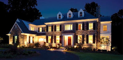 Irrigation & Lighting Specialist's outdoor lighting is a great way to highlight your home!