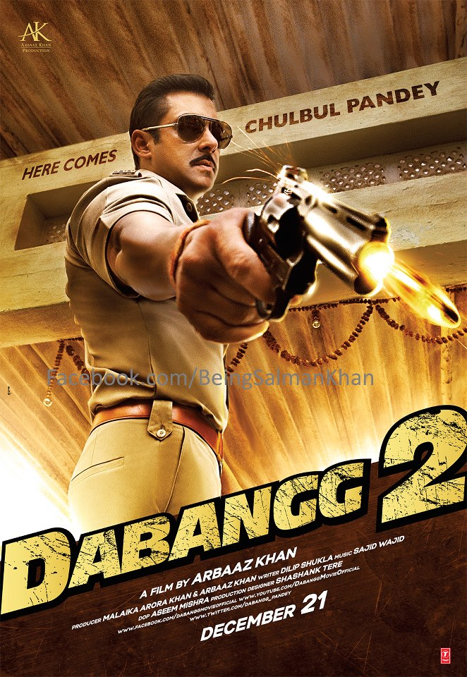 Khan Dabangg 2 Bollywood  Dabangg 2 First Look Poster