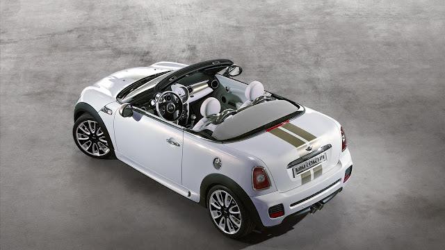 White Mini Coupe