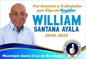 William Santana Ayala Regidor 2020-2024