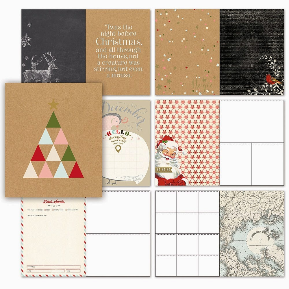 How to scrapbook a holiday - Close To My Heart Holiday Happenings My Crush Enables You To Scrapbook On The Run And Has Done Most Of The Work For You