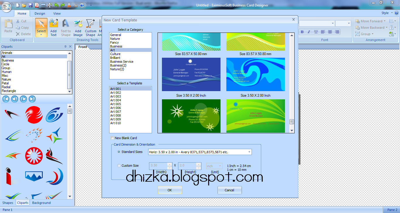 Eximioussoft business card designer v3 90 setup key