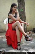 Meghasri glamorous photos in red-thumbnail-4