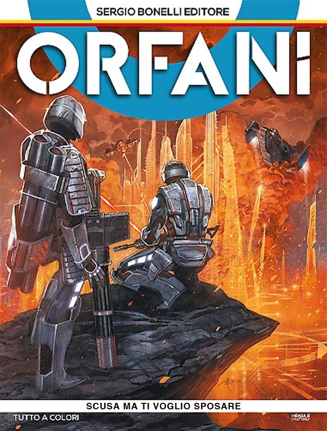 orfani cover copertina numero 2 federico moccia parodia