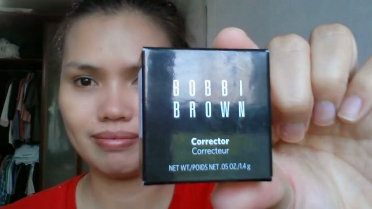 bobbi brown corrector. Black Smokey Eyes Makeup Tutorial