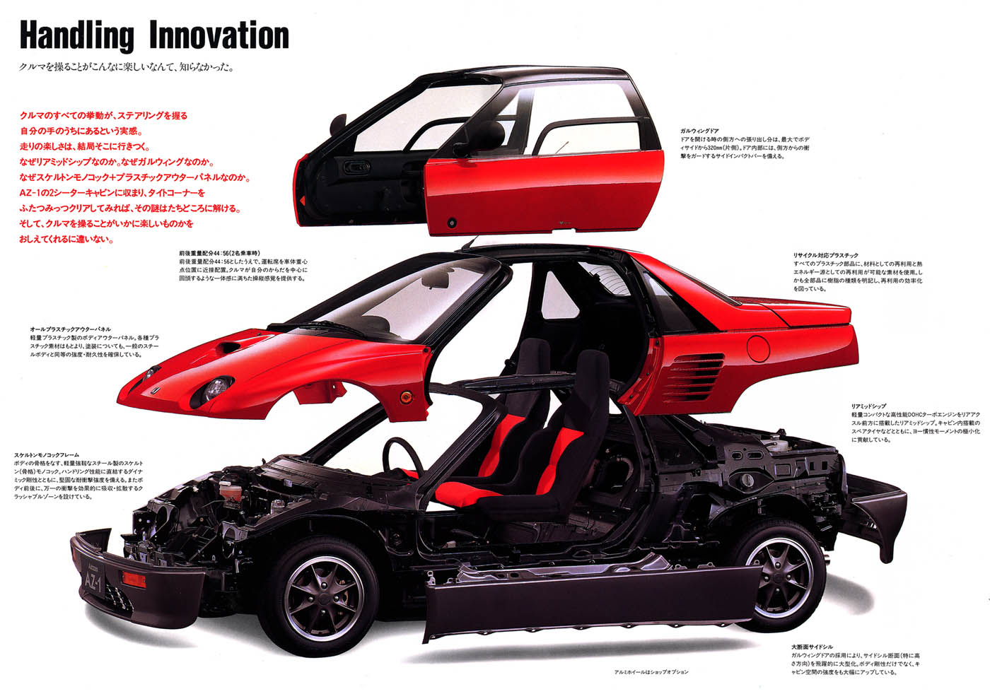 Autozam AZ-1, kei car, JDM