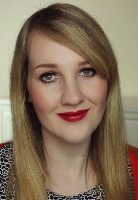 Jordana Garnet lipstick swatches & review