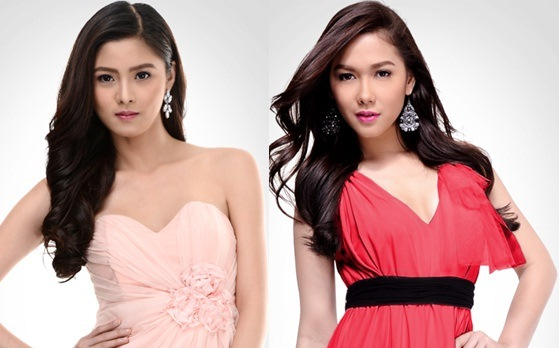 Maja Salvador (Margaux) and Kim Chiu (Celyn)