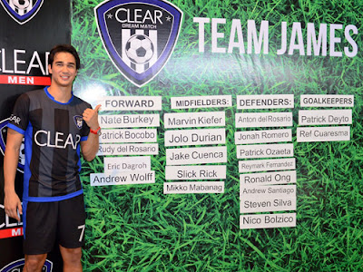 Team James for CLEAR Dream Match