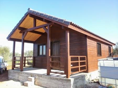 Casas de madera casas prefabricadas refugios madera - Refugios de madera prefabricados ...